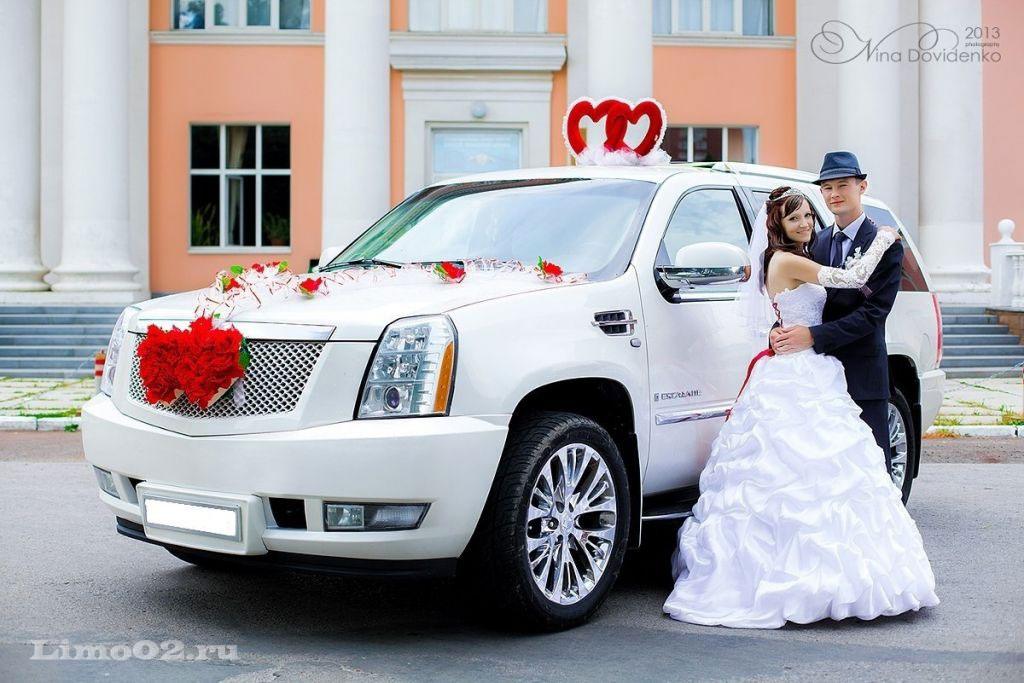 Прокат и аренда авто на свадьбу в уфе, автомобили с водителем принимаем заявки на